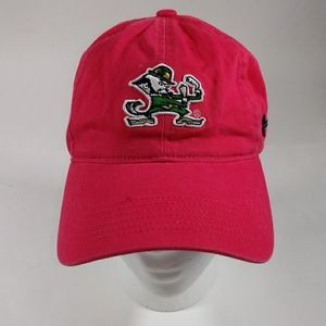 N.D. Women's Pink Adj Strap OSZ Leprechaun Cap